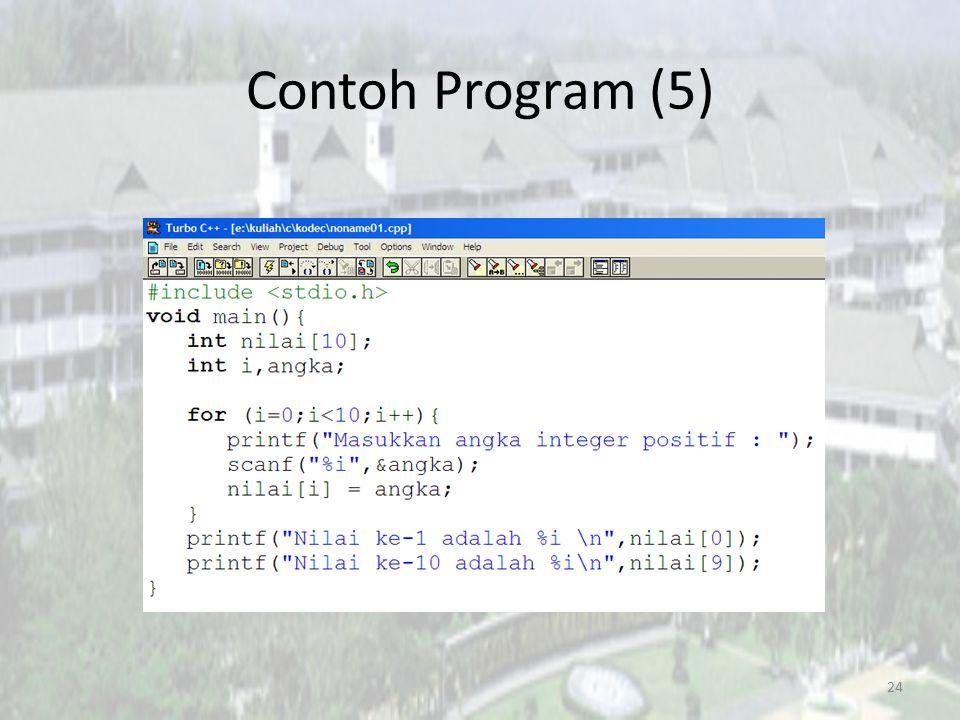 Contoh Program (5)