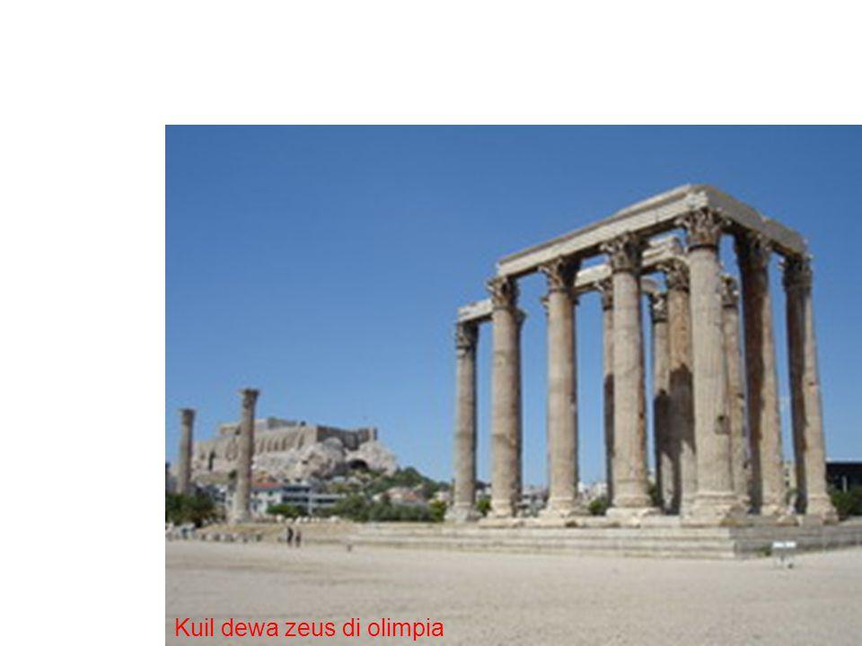 Kuil dewa zeus di olimpia