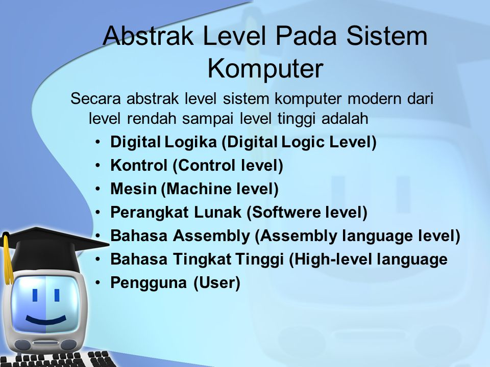 Abstrak Level Pada Sistem Komputer