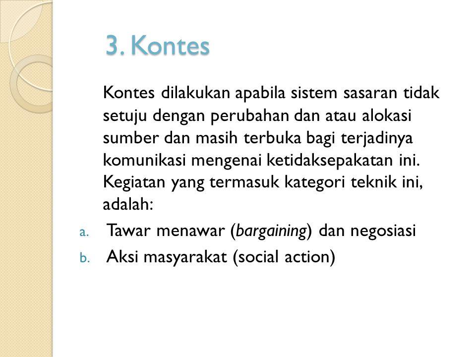 3. Kontes