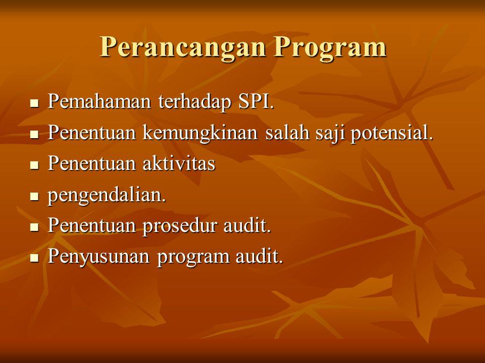 Perancangan Program Pemahaman terhadap SPI.