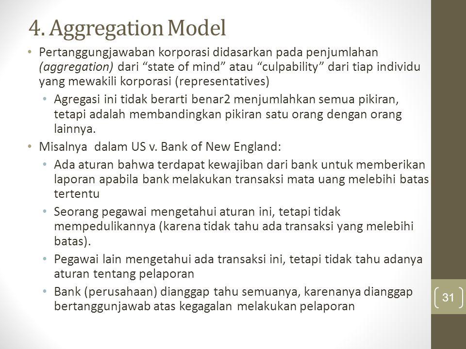 4. Aggregation Model