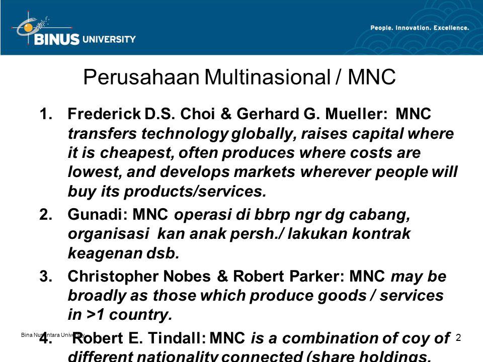 Perusahaan Multinasional / MNC