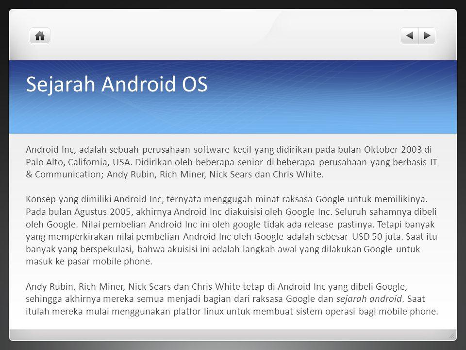 Sejarah Android OS