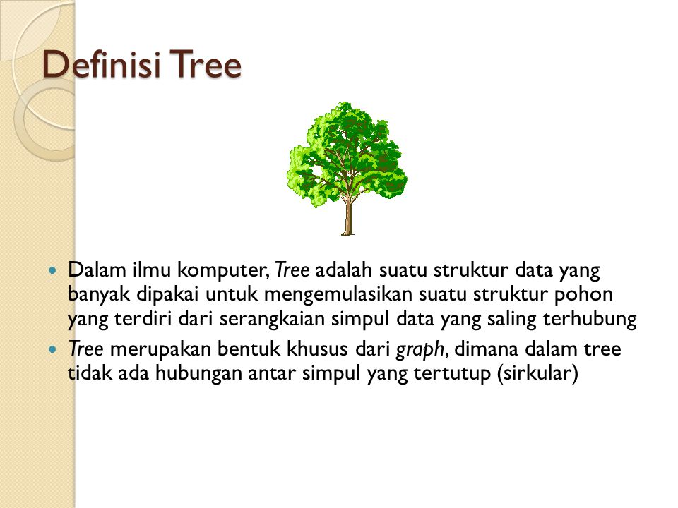 Definisi Tree