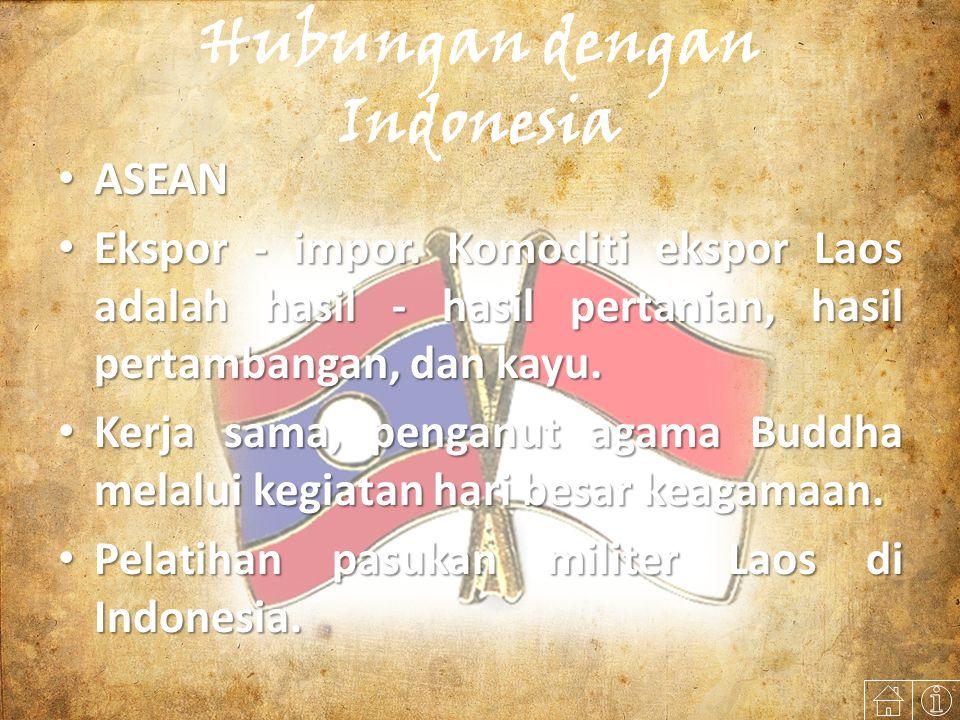 Hubungan dengan Indonesia