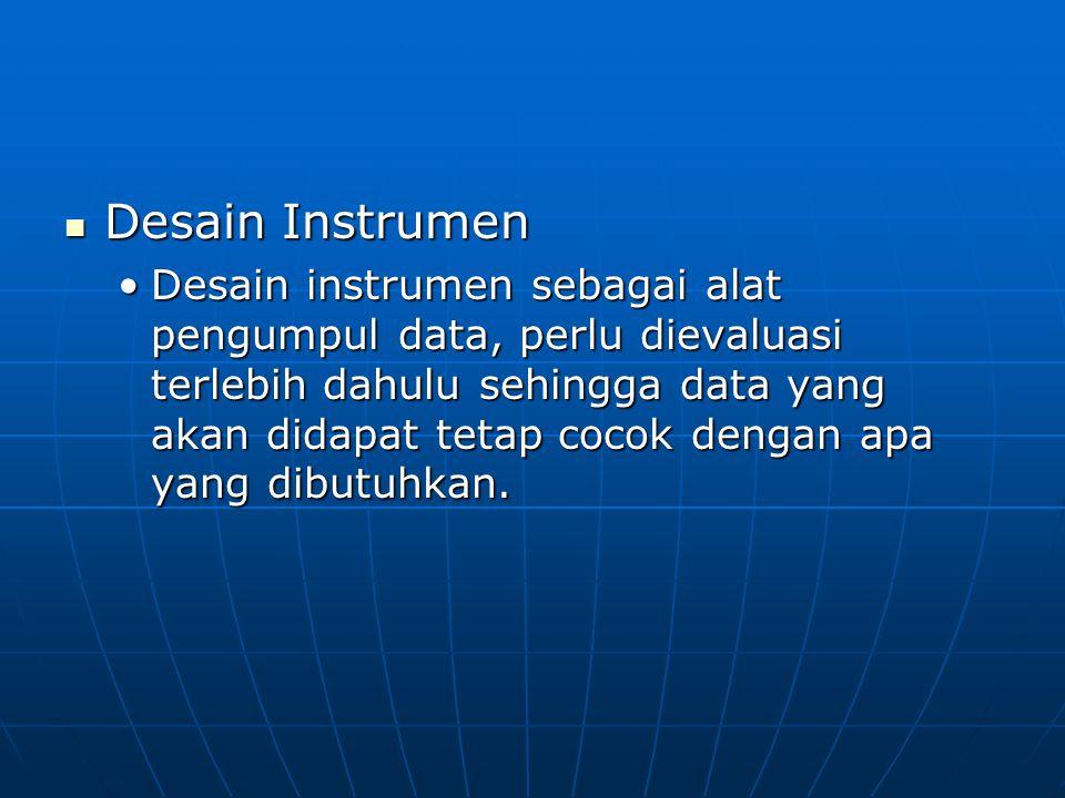 Desain Instrumen