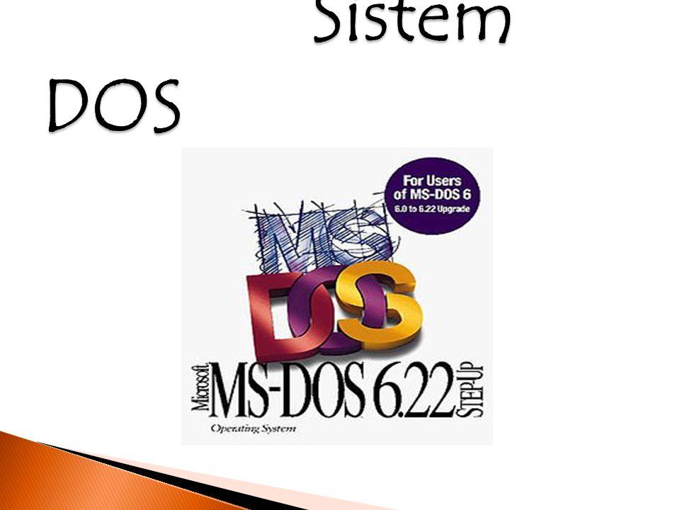 Sistem DOS