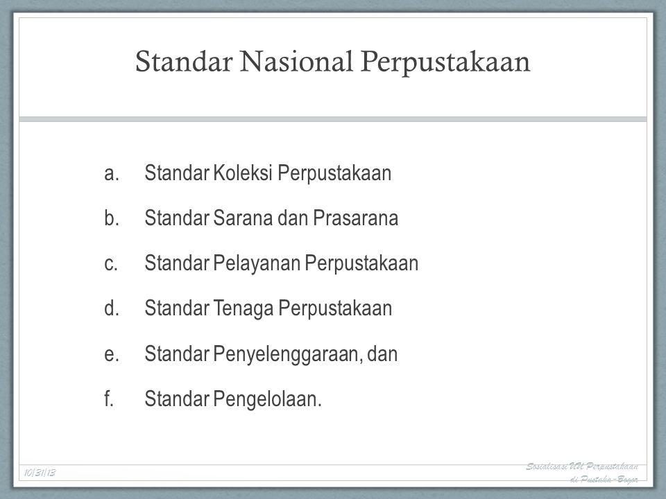 Standar Nasional Perpustakaan