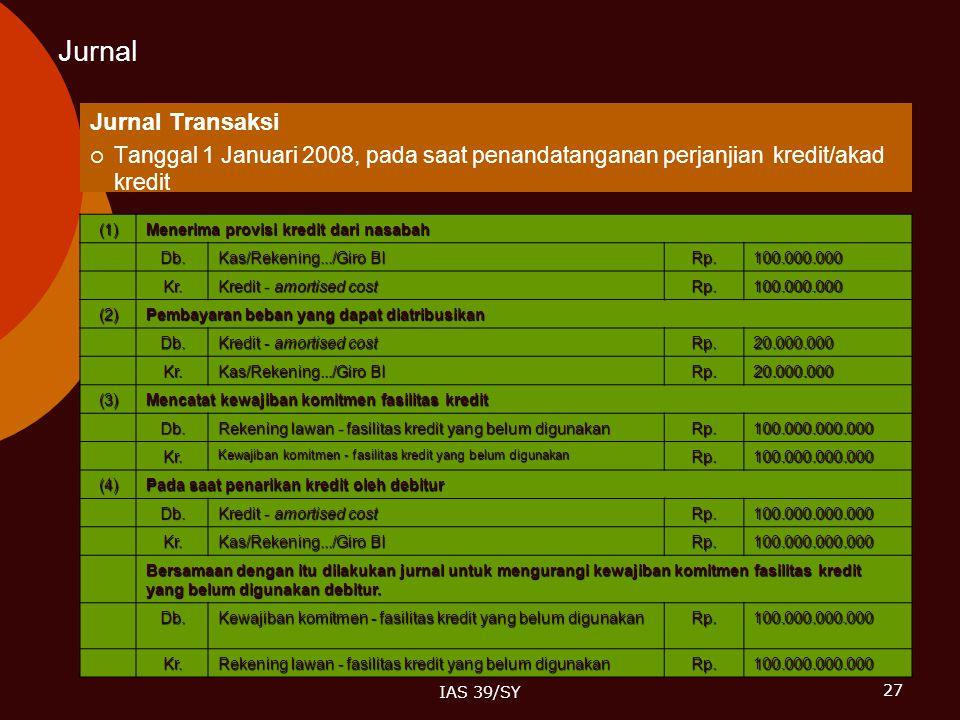 Jurnal Jurnal Transaksi