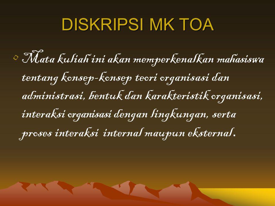 DISKRIPSI MK TOA