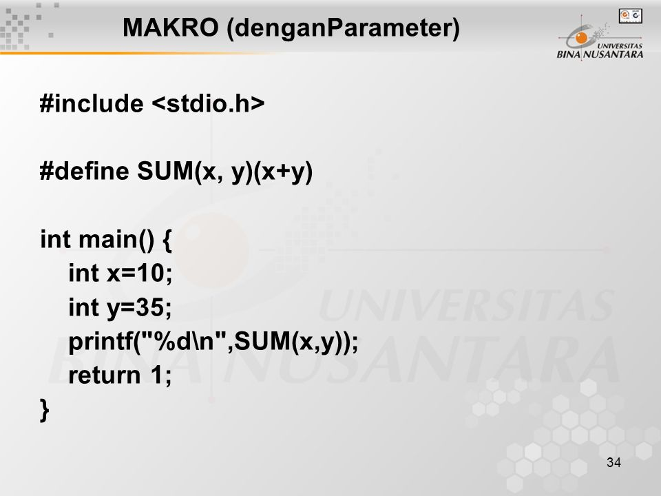 MAKRO (denganParameter)