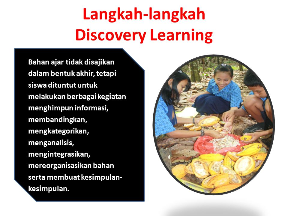 Langkah-langkah Discovery Learning