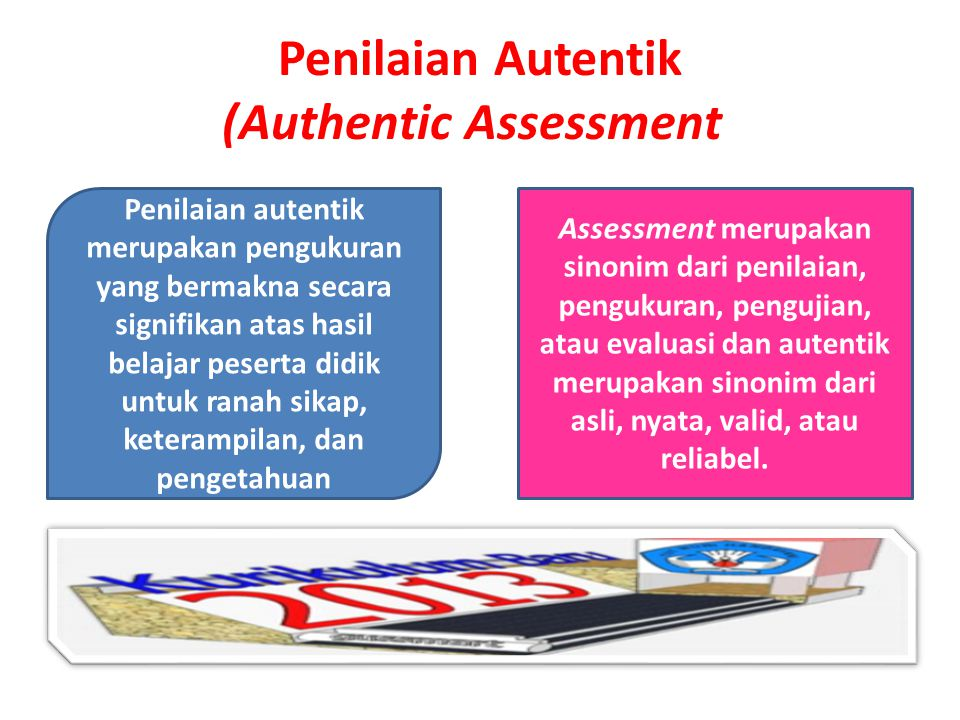 Penilaian Autentik (Authentic Assessment)