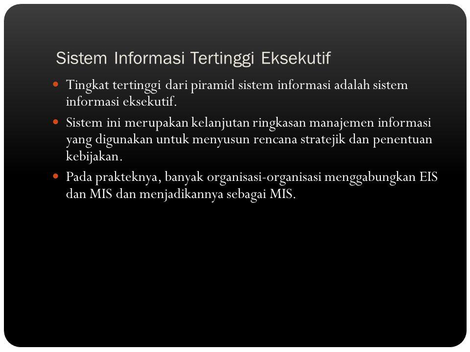 Sistem Informasi Tertinggi Eksekutif