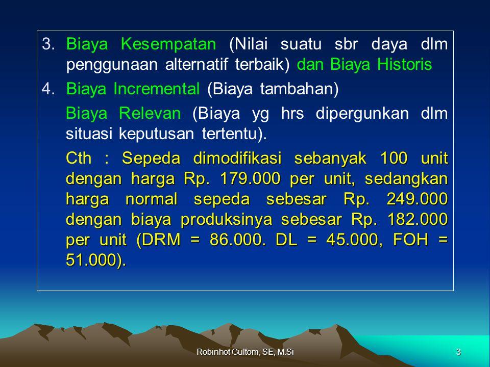 Biaya Incremental (Biaya tambahan)