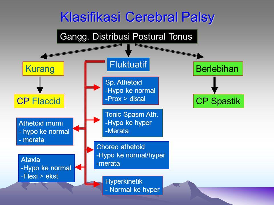 Klasifikasi Cerebral Palsy
