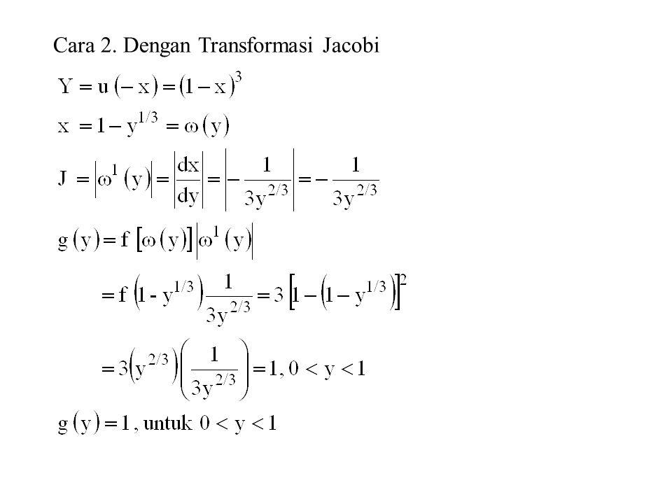 Cara 2. Dengan Transformasi Jacobi