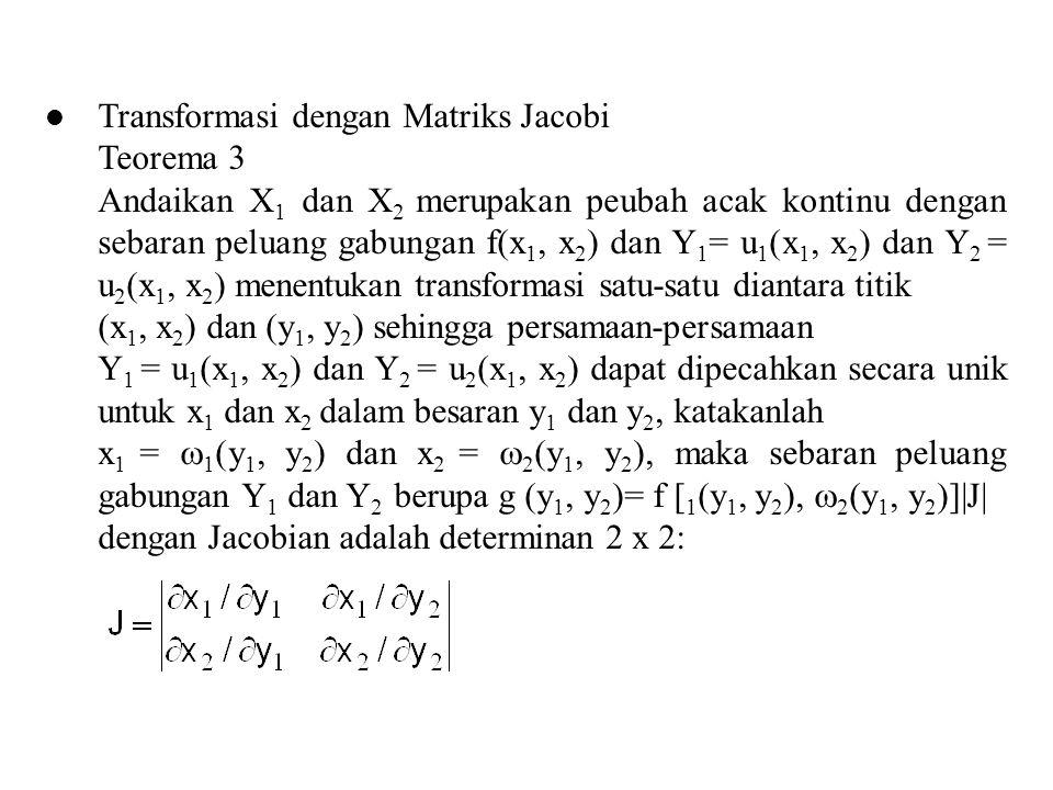 Transformasi dengan Matriks Jacobi