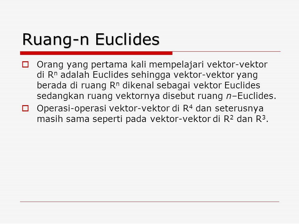 Ruang-n Euclides