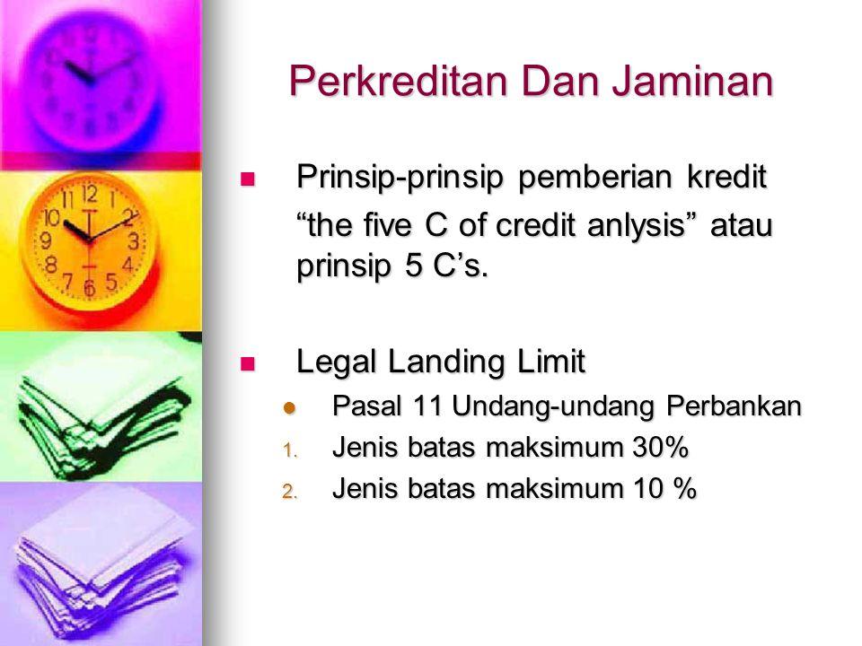 Perkreditan Dan Jaminan