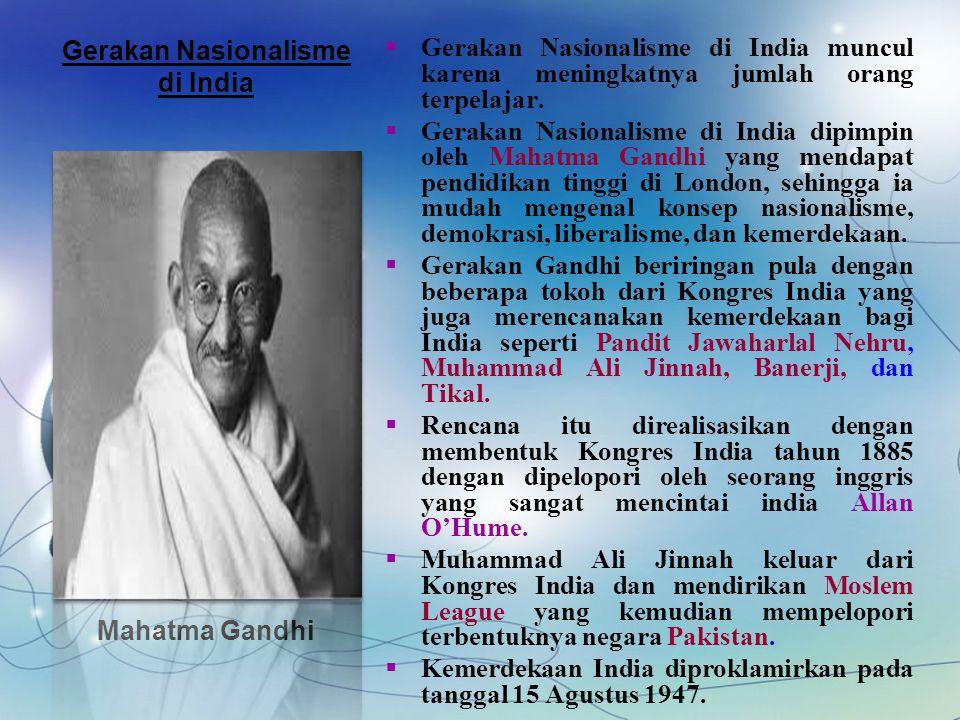 Gerakan Nasionalisme di India