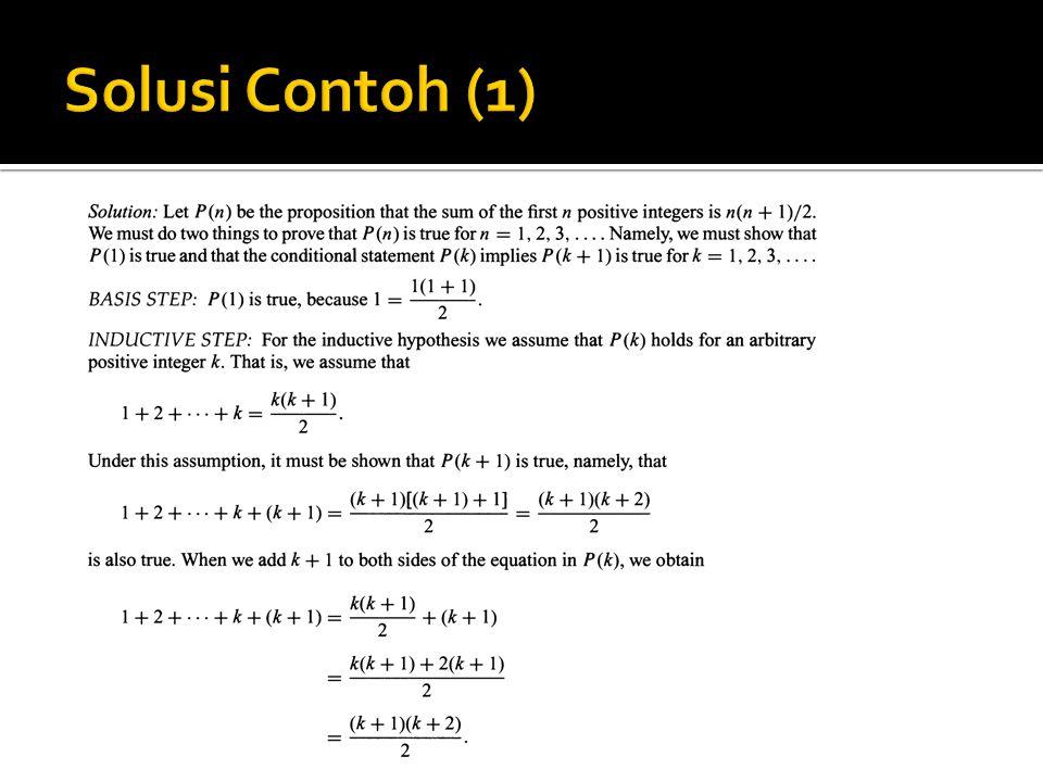 Solusi Contoh (1)