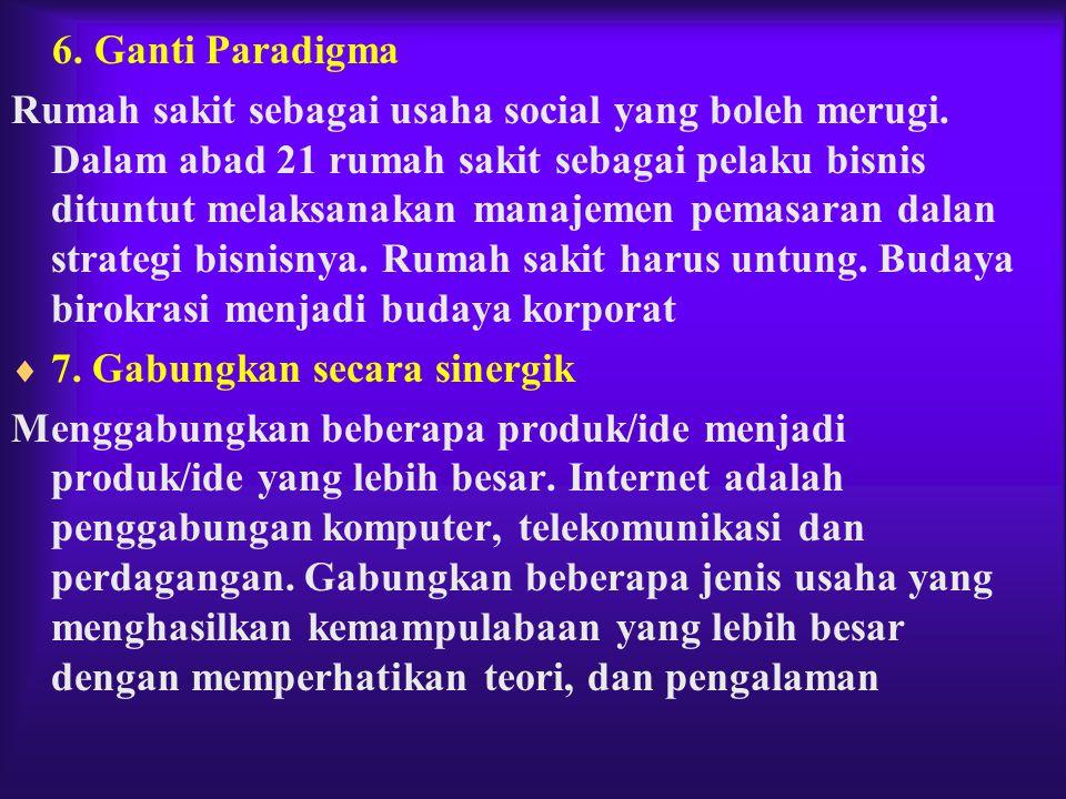 6. Ganti Paradigma