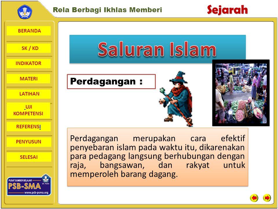 Saluran Islam Perdagangan :