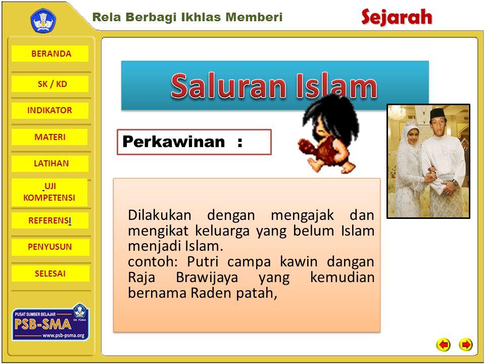 Saluran Islam Perkawinan :