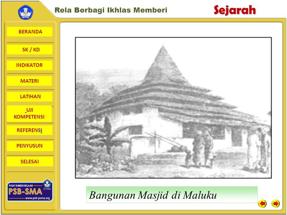 Bangunan Masjid di Maluku