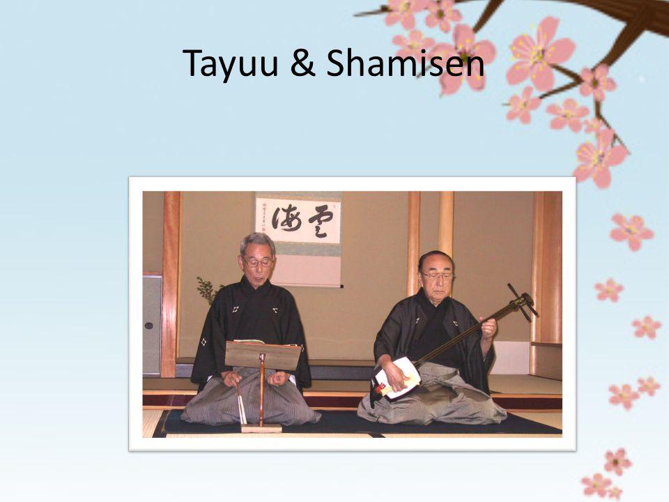 Tayuu & Shamisen