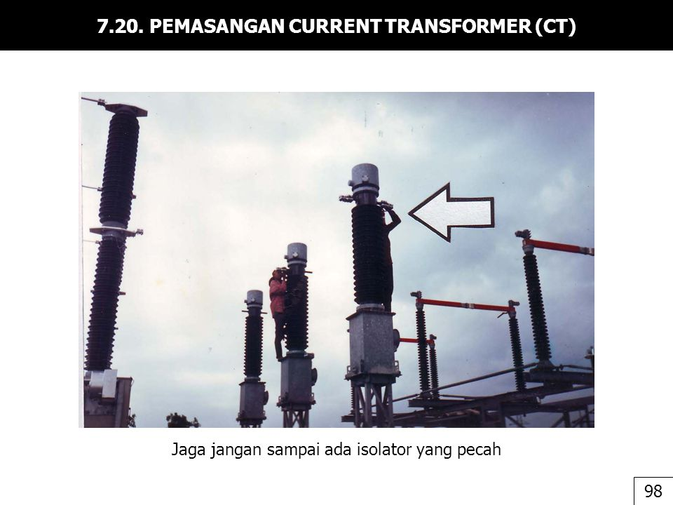 7.20. PEMASANGAN CURRENT TRANSFORMER (CT)