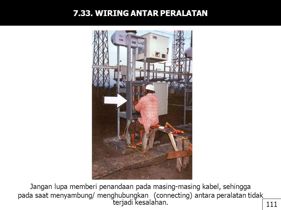 7.33. WIRING ANTAR PERALATAN