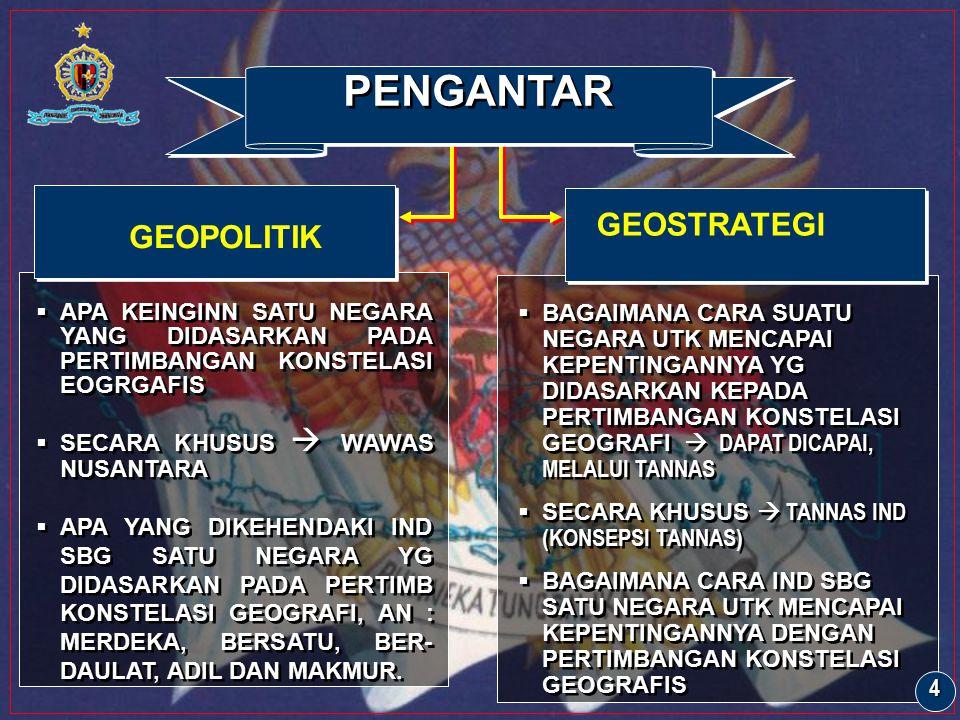 PENGANTAR GEOPOLITIK GEOSTRATEGI