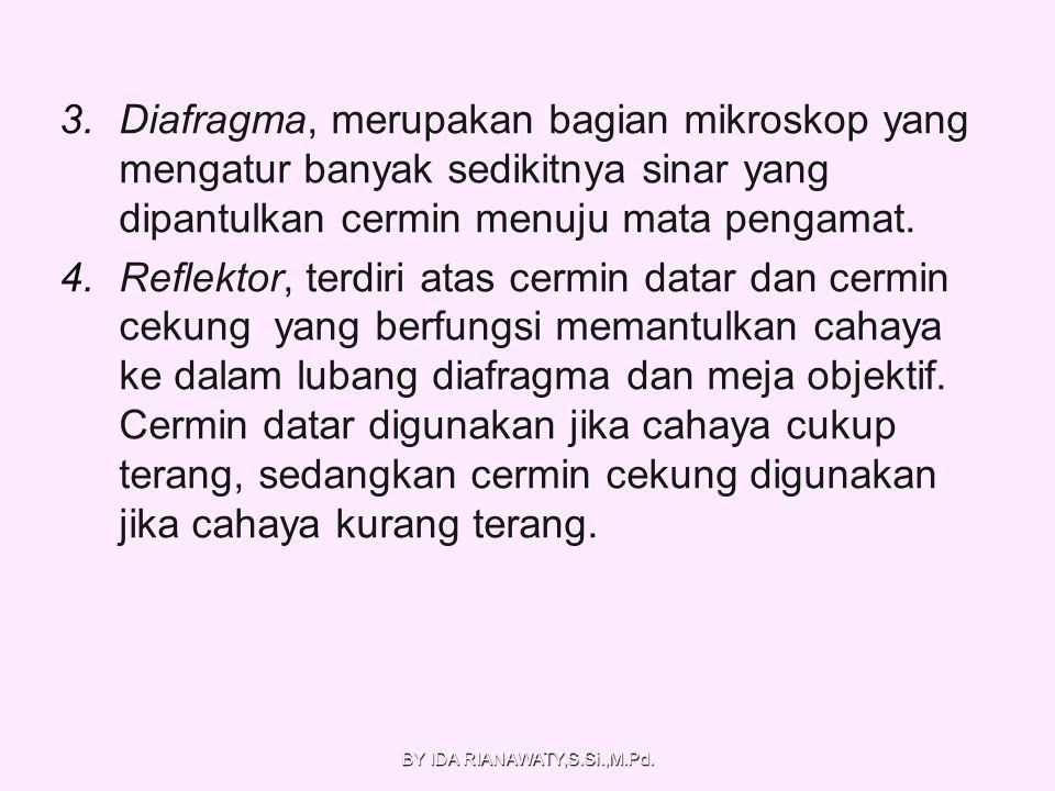 BY IDA RIANAWATY,S.Si.,M.Pd.