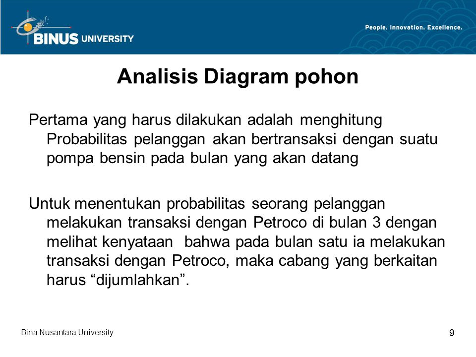 Analisis Diagram pohon