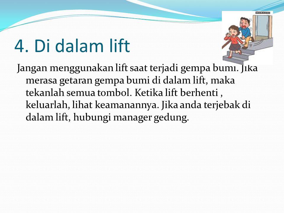 4. Di dalam lift