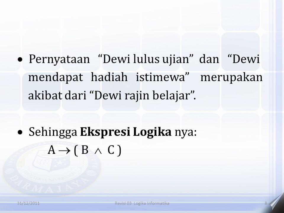 Revisi 03 Logika Informatika