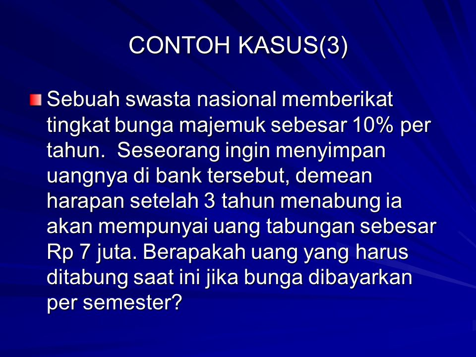 CONTOH KASUS(3)