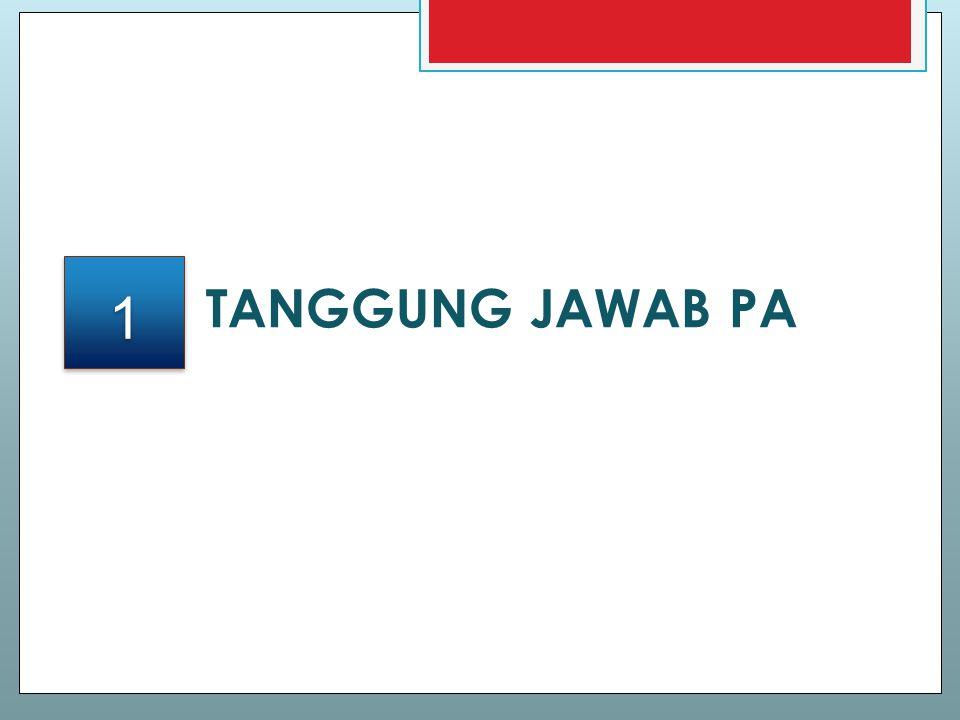 TANGGUNG JAWAB PA 1