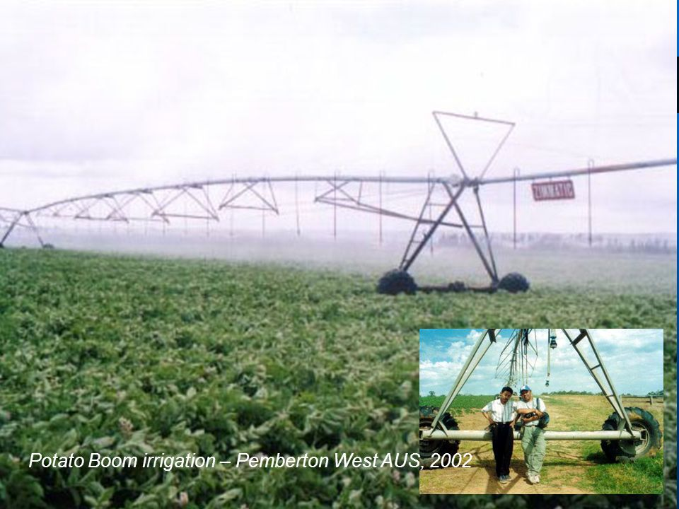 Potato Boom irrigation – Pemberton West AUS, 2002