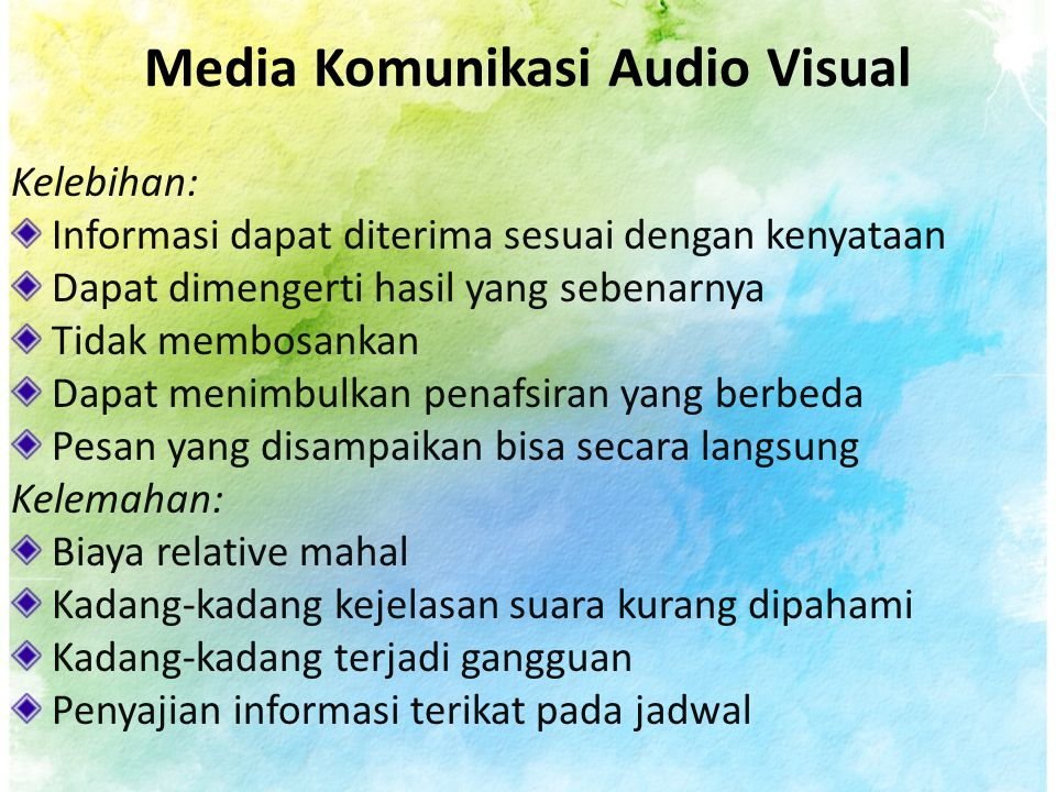 Media Komunikasi Audio Visual