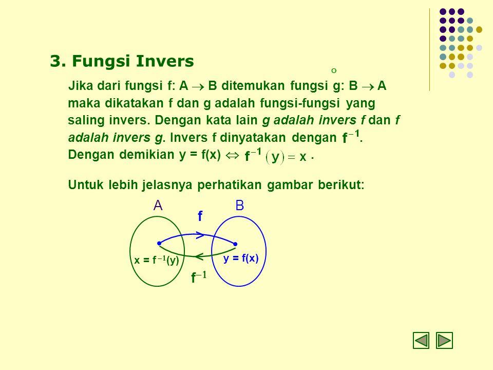 > < 3. Fungsi Invers 