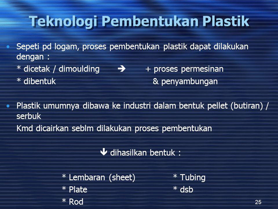 Teknologi Pembentukan Plastik