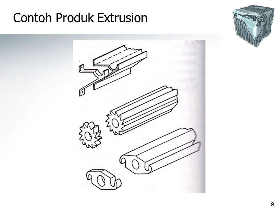 Contoh Produk Extrusion