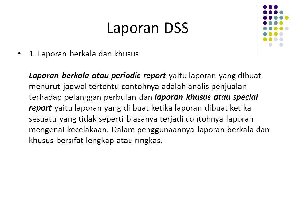 Laporan DSS