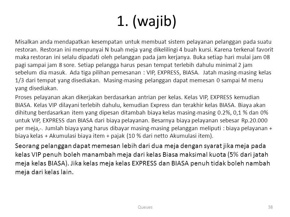 11. (wajib)