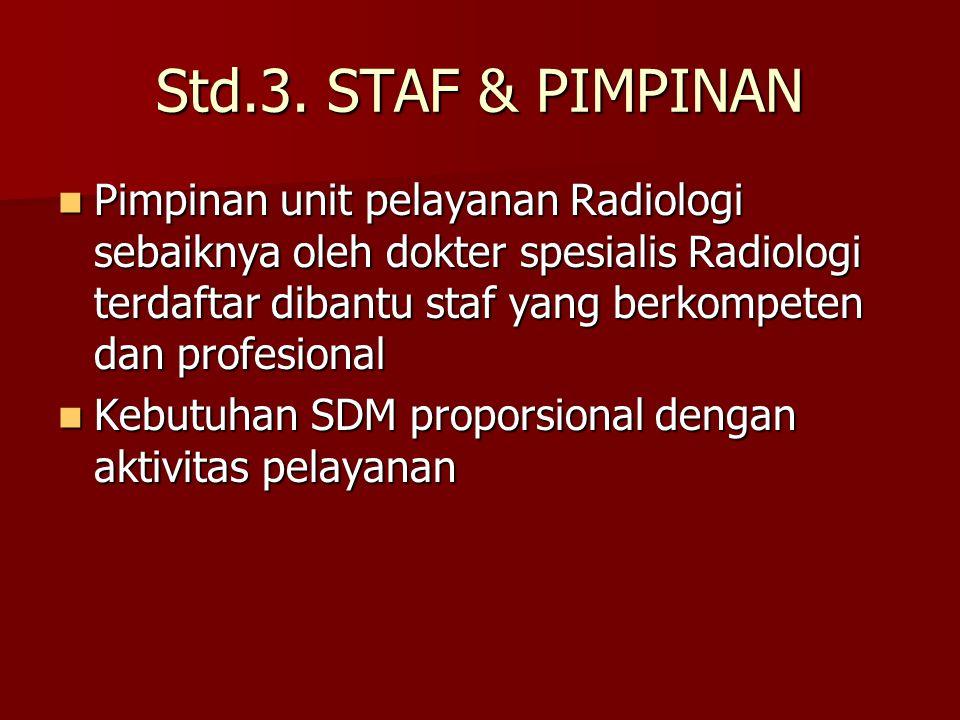 Std.3. STAF & PIMPINAN