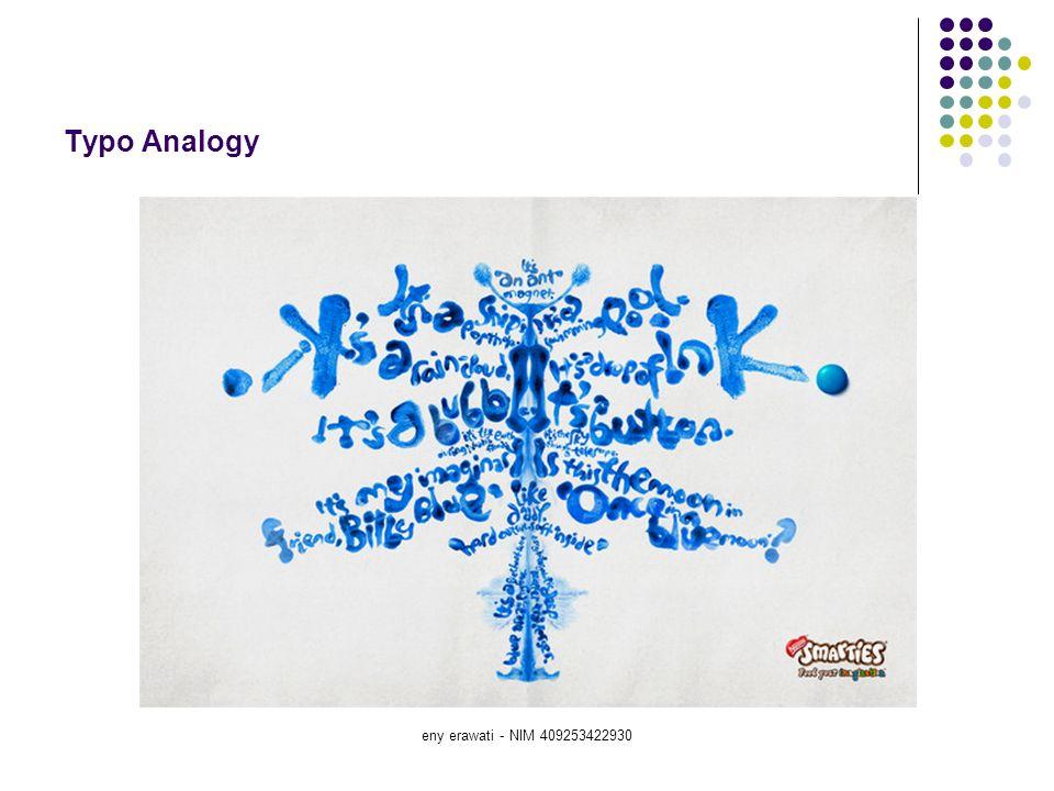 Typo Analogy eny erawati - NIM 409253422930